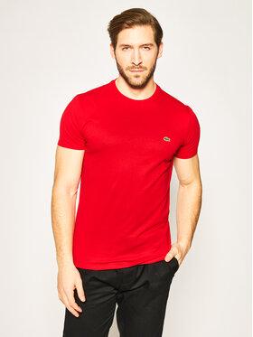 Lacoste Lacoste T-Shirt TH6709 Czerwony Regular Fit