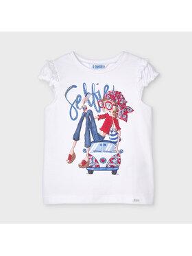 Mayoral Mayoral T-shirt 3013 Blanc Regular Fit