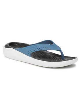 Crocs Crocs Žabky Literide Flip 205182 Tmavomodrá