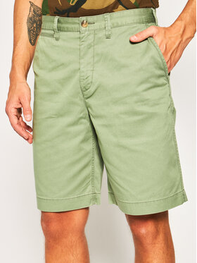 Polo Ralph Lauren Polo Ralph Lauren Szorty materiałowe 710740571 Zielony Relaxed Fit