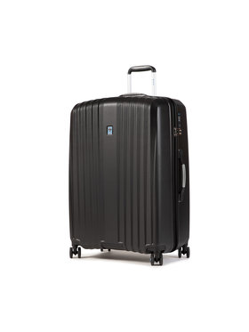 Dielle Dielle Nagy kemény borítású bőrönd 120/70 Fekete