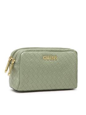 Guess Guess Τσαντάκι καλλυντικών Emelyn Accessories PWEMEL P1373 Πράσινο