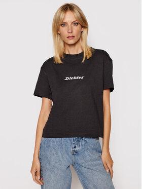 Dickies Dickies T-shirt Loretto DK0A4XBA Nero Regular Fit