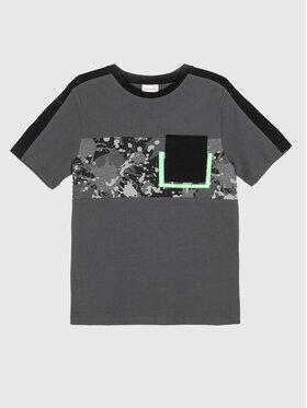 Coccodrillo Coccodrillo T-Shirt ZC1143203CRA Szary Regular Fit