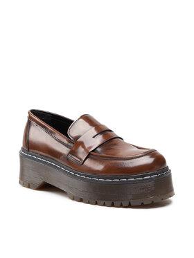 Carinii Carinii Pantofi B7335 Maro