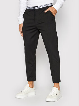 Calvin Klein Jeans Calvin Klein Jeans Teplákové kalhoty J30J317199 Černá Slim Fit