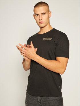 Puma Puma T-Shirt Modern Basic 583575 Czarny Regular Fit