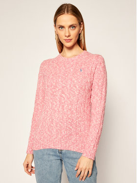 Polo Ralph Lauren Polo Ralph Lauren Sweter 211801522004 Różowy Regular Fit