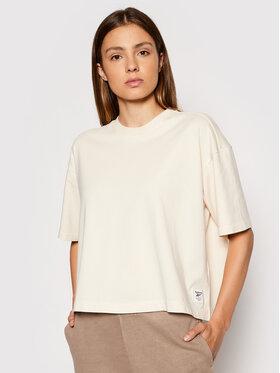 Reebok Reebok T-Shirt Classics Non Dye GR0397 Beige Relaxed Fit
