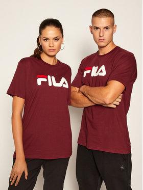 Fila Fila T-Shirt Classic Pure Ss Tee 681093 Dunkelrot Regular Fit