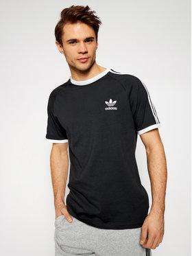 adidas adidas T-Shirt adicolor Classics 3-Stripes GN3495 Μαύρο Slim Fit
