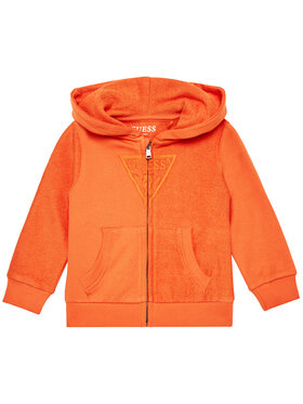 Guess Guess Majica dugih rukava N1RQ07 KA6R0 Narančasta Regular Fit