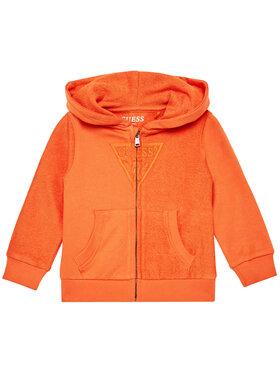 Guess Guess Mikina N1RQ07 KA6R0 Oranžová Regular Fit