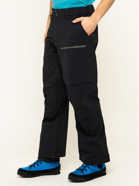 Quiksilver Quiksilver Сноуборд панталони Travis Rice Stretch EQYTP03110 Черен Regular Fit