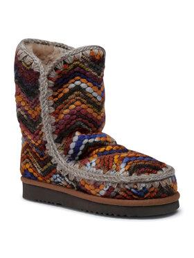 Mou Mou Buty Eskimo 24 Wool Fabric FW101017K Kolorowy