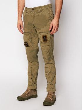 Aeronautica Militare Aeronautica Militare Pantaloni di tessuto 211PA1387CT1493 Verde Regular Fit