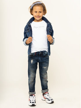 Pepe Jeans Pepe Jeans T-shirt PG501567 Bianco Regular Fit