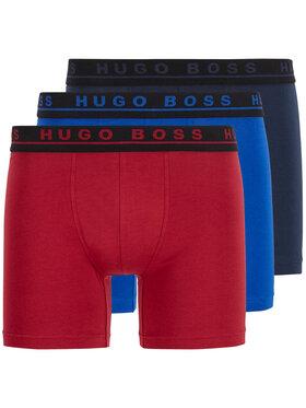 Boss Boss Sada 3 párů boxerek 3P Co/El 50442642 Barevná