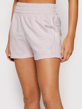 adidas adidas Sportske kratke hlače Tennis Luxe 3-Stripes H56440 Ružičasta Regular Fit