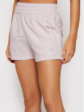 adidas adidas Szorty sportowe Tennis Luxe 3-Stripes H56440 Różowy Regular Fit