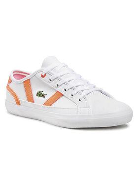 Lacoste Lacoste Sneakers Sideline 0721 1 Cuj 7-41CUJ0015B53 Alb