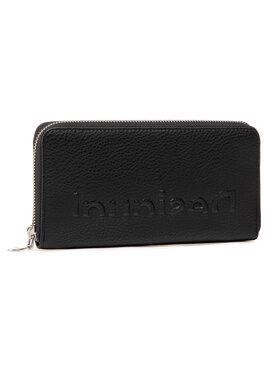 Desigual Desigual Portefeuille femme grand format 21SAYP35 Noir