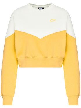 NIKE NIKE Sweatshirt Crew Fleece AR2505 Multicolore Oversize