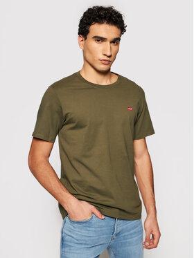 Levi's® Levi's® T-Shirt Original Housemark 56605-0021 Grün Standard Fit