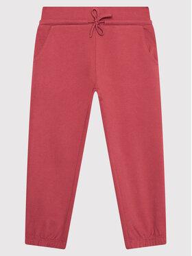 United Colors Of Benetton United Colors Of Benetton Spodnie dresowe 3J74I0517 Różowy Regular Fit