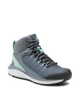 Columbia Columbia Трекінгові черевики Trailstorm Mid Waterproof BL0155 Сірий