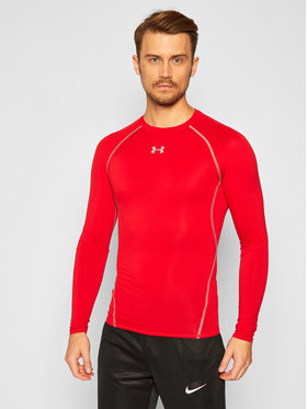 Under Armour Under Armour T-shirt technique Heatgear 1257471 Rouge Slim Fit