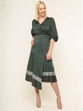 Marella Marella Robe de jour 32262498 Vert Regular Fit