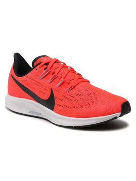 Nike Nike Buty Air Zoom Pegasus 36 AQ2203 600 Pomarańczowy