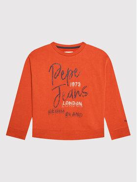 Pepe Jeans Pepe Jeans Bluza Elisabeth PG581201 Pomarańczowy Regular Fit