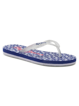 Pepe Jeans Pepe Jeans Flip flop Beach Stars PGS70038 Alb