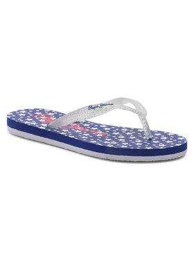 Pepe Jeans Pepe Jeans Flip-flops Beach Stars PGS70038 Fehér