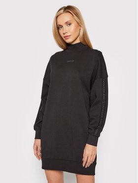 Calvin Klein Jeans Calvin Klein Jeans Плетена рокля J20J217571 Черен Oversize