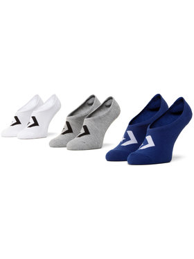 Converse Converse Sada 3 párů pánských ponožek E947A-3000 Bílá