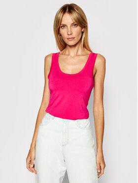 Kontatto Kontatto Marškinėliai M1607 Rožinė Regular Fit
