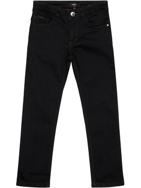 Boss Boss Τζιν J24670 S Μαύρο Slim Fit