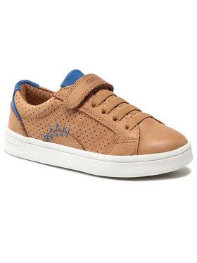 Geox Geox Sneakersy J Djrock B. E J155VE 000CL C6169 S Hnedá