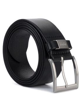 Boss Boss Pánský pásek Connio 50224631 Černá