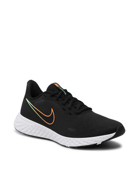 Nike Nike Boty Revolution 5 BQ3204 017 Černá