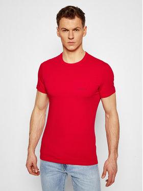 Versace Versace T-shirt Girocollo AUU04023 Rouge Slim Fit
