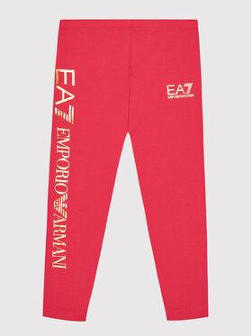 EA7 Emporio Armani EA7 Emporio Armani Legginsy 6KFP51 FJ01Z 1406 Różowy Slim Fit