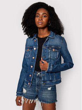 Tommy Jeans Tommy Jeans Geacă de blugi Vivianne DW0DW09057 Albastru Slim Fit