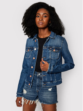 Tommy Jeans Tommy Jeans Veste en jean Vivianne DW0DW09057 Bleu Slim Fit