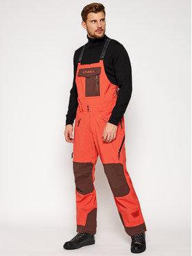 O'Neill O'Neill Lyžiarske nohavice Pm Orginal Bib 0P3004 Oranžová Relaxed Fit