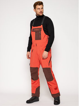 O'Neill O'Neill Pantaloni da sci Pm Orginal Bib 0P3004 Arancione Relaxed Fit