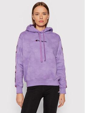 Champion Champion Sweatshirt Blend Tie Dye 114755 Violet Custom Fit